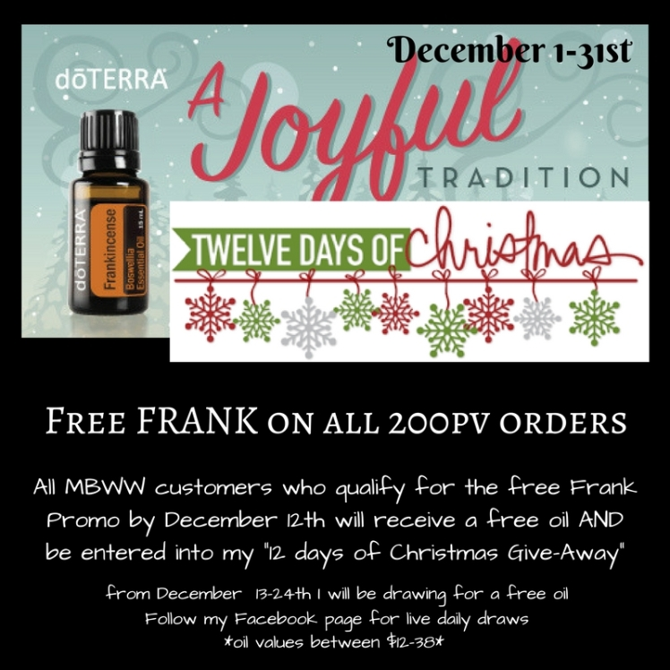 Add will be entered into my 12 days of Christmas give away. From the 13th to the 24th I will be drawing for a free oil a dayFollow my Facebook page for live draws!-2.jpg
