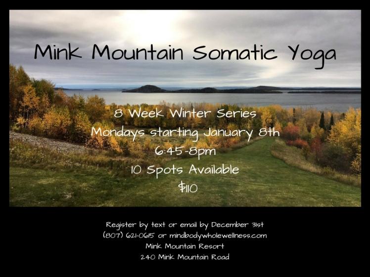 Mink Mountain Somatic Yoga